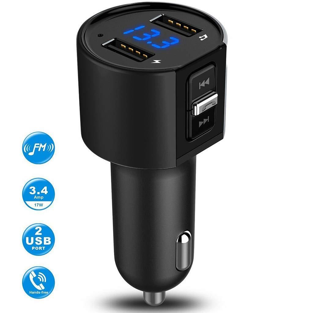 Dinglong C26S Kit Voiture Bluetooth Transmetteur Fm Adaptateur Radio Sans Fil Lecteur MpP Plug USB