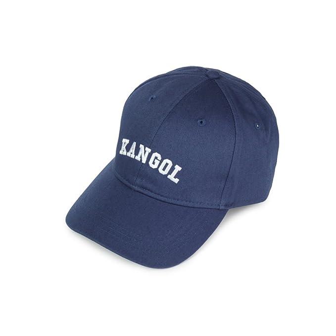 Kangol Baseball Cap, Logotipo de la Palabra Gorra de béisbol (Armada)