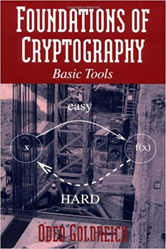 Foundations of Cryptography Volume 1 Basic Tools