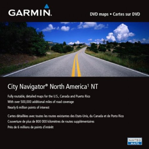 Garmin 010-11551-00 MapSource City Navigator NT North America - GPS software - for Astro, Colorado 300, 400, Edge 605, 705, nuvi 20X, 25X, 260, 660, 750, 770, 780, 850, 880 -