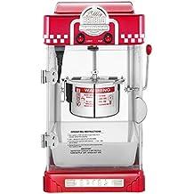 Great Northern Popcorn Company 6073 GNP Little Bambino Red GNP Little Bambino 2-1/2 Ounce Retro Style Popcorn Popper Machine