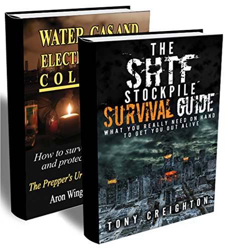SHTF Preparedness BOX SET 2 IN 1: What You Really Need on Hand to Get Out Alive + Off The Grid Survival Guide On How To Survive And Protect Your Family: ... (Out Off Grid - Preppers Survival Guide) by [Creighton, Tony, Wingazer, Aron]