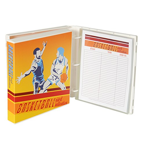 (UniKeep Basketball Card Storage Binder - Includes Acid Free Plastic Card Pages to Store Up To 180 Cards)