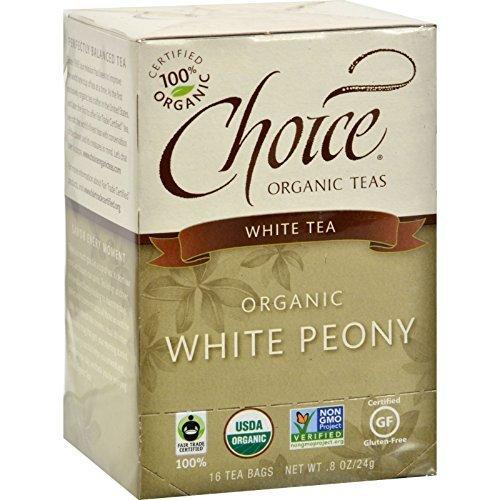 Choice Organic Teas Tea Og2 White 16 Bag by Choice Organic