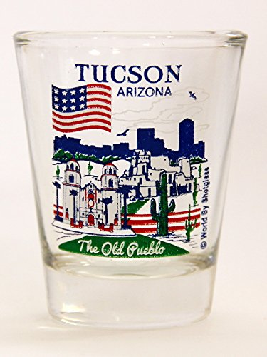Tucson Arizona Great American Cities Collection Shot Glass