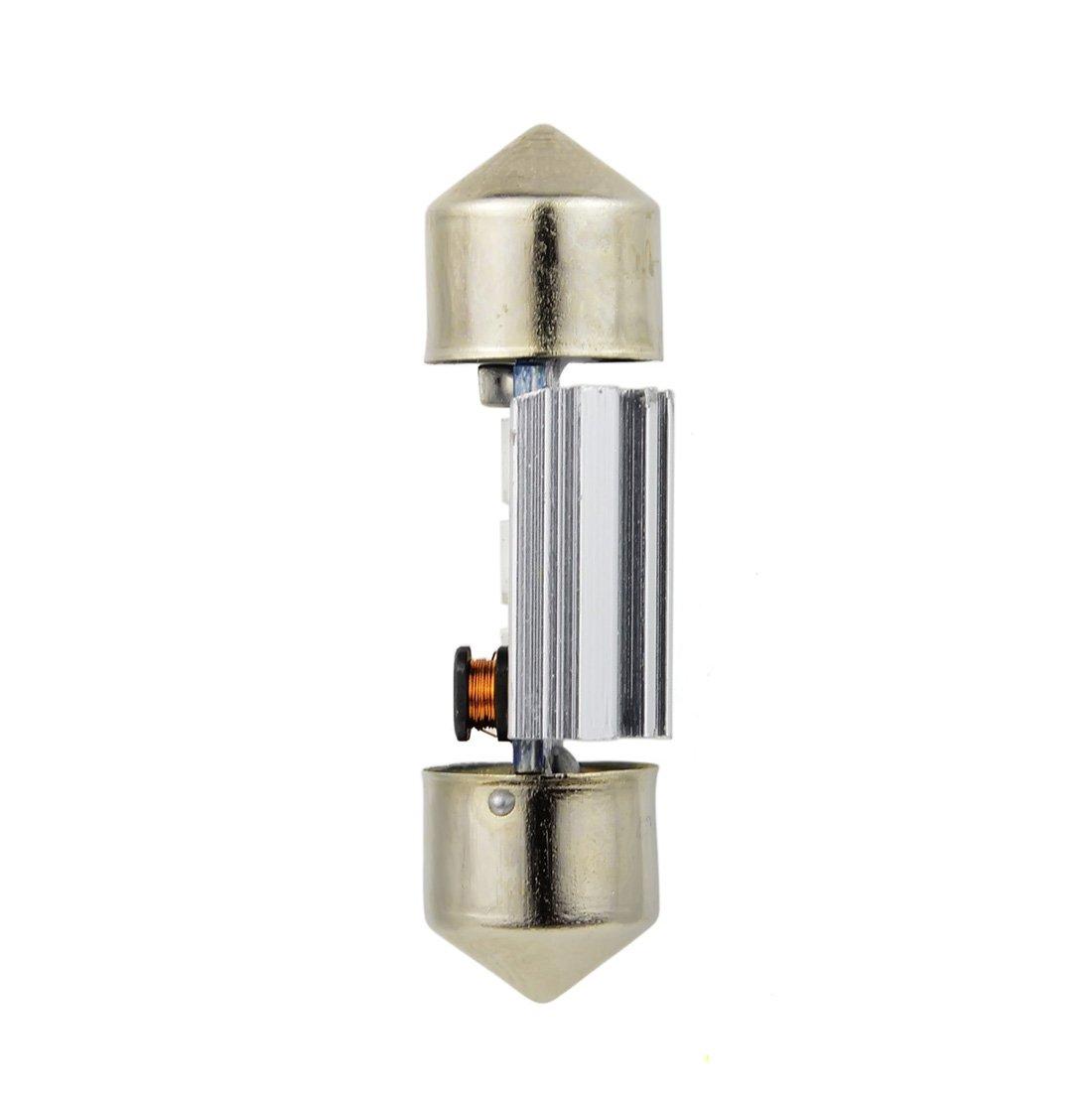Safego 4x C5W LED Anti Errur 31mm 3-3030 SMD D/ôme voiture Int/érieur LED Lumi/ère Xenon Blanc