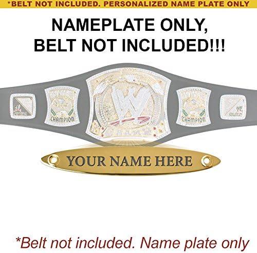 Personalizado Placa para adulto WWE Campeonato de Spinning réplica ...