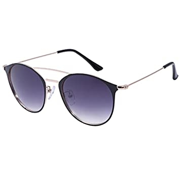 Amazon.com: Fheaven Trendy Polarized Sunglasses UV Mirrored Lens ...
