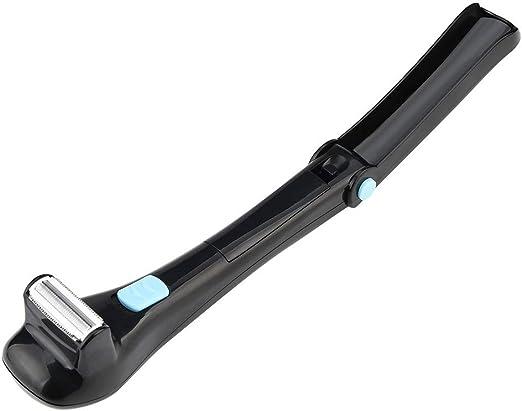 JIAO ES Afeitadora de Espalda para Hombres Plegable Atrás Máquina ...