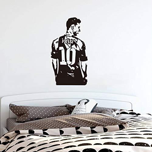Tianpengyuanshuai Tatuajes de Pared Messi Estrella de fútbol ...