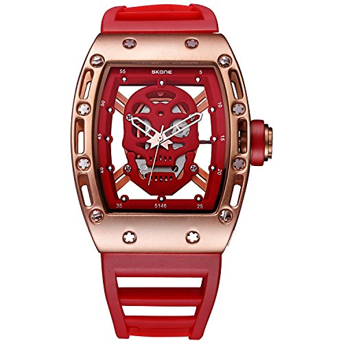 buyeonline-mens-unique-casual-sport-leather-band-wrist-watch-with-red-dial