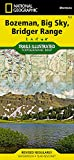 Bozeman, Big Sky, Bridger Range (National Geographic Trails Illustrated Map)