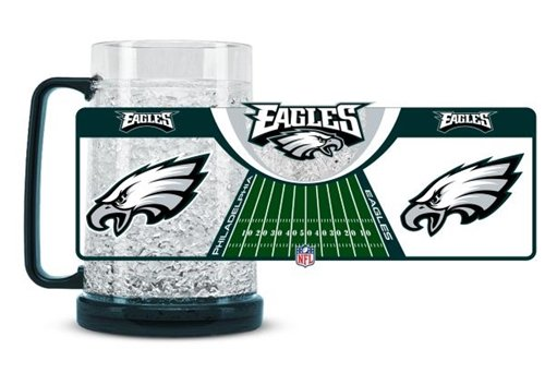 Philadelphia Eagles Crystal Freezer Mug