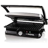 Nova Turbo NGS-2451 4 Slice Panini Sandwich Maker (Black)