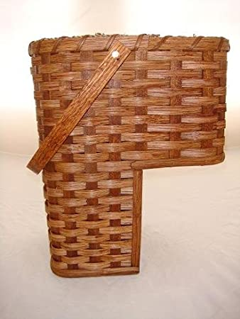 Large 9u0026quot; Stair Step Basket. Beautifully Rests On Your Stairsteps.  Swivel Handle, Amazing Pictures