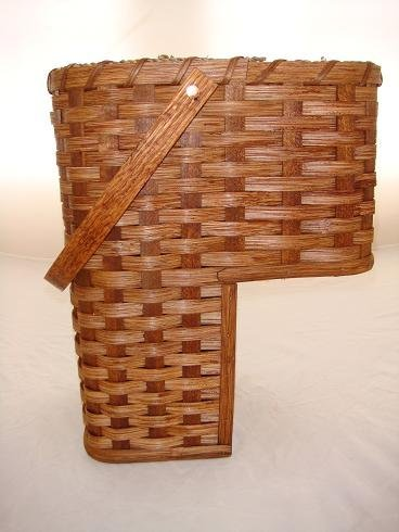 Lovely Large 9u0026quot; Stair Step Basket. Beautifully Rests On Your Stairsteps.  Swivel Handle,