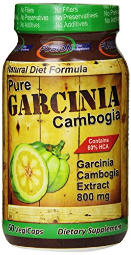 Dietary Supplement Diet Systems Fusion Garcinia Cambogia, 60 comte
