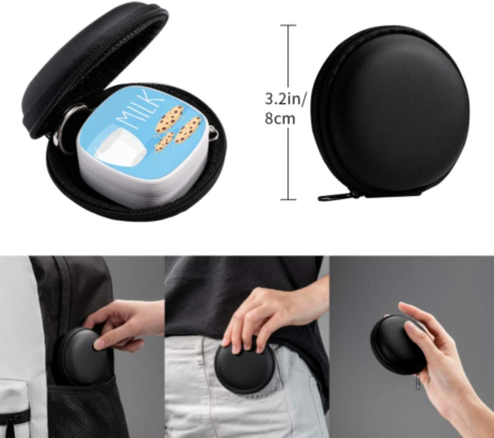 Charger USB Cable Glass Sweet Milk and Cookie Biscuit Multi 3 in 1 Retractable Multi USB Charging Cable with Micro USB//Type C Compatible with Cell Phones Tablets and More