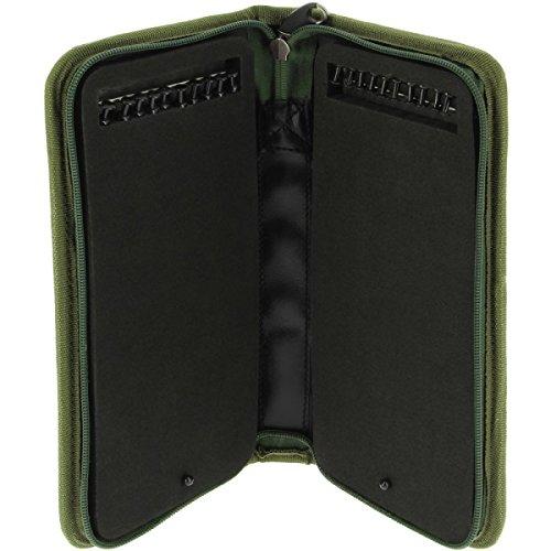 NGT Karpfenangeln 6+1 Ger/ät Kiste mit Stiff Rig Brieftasche und Isoliert Carry all Tasche
