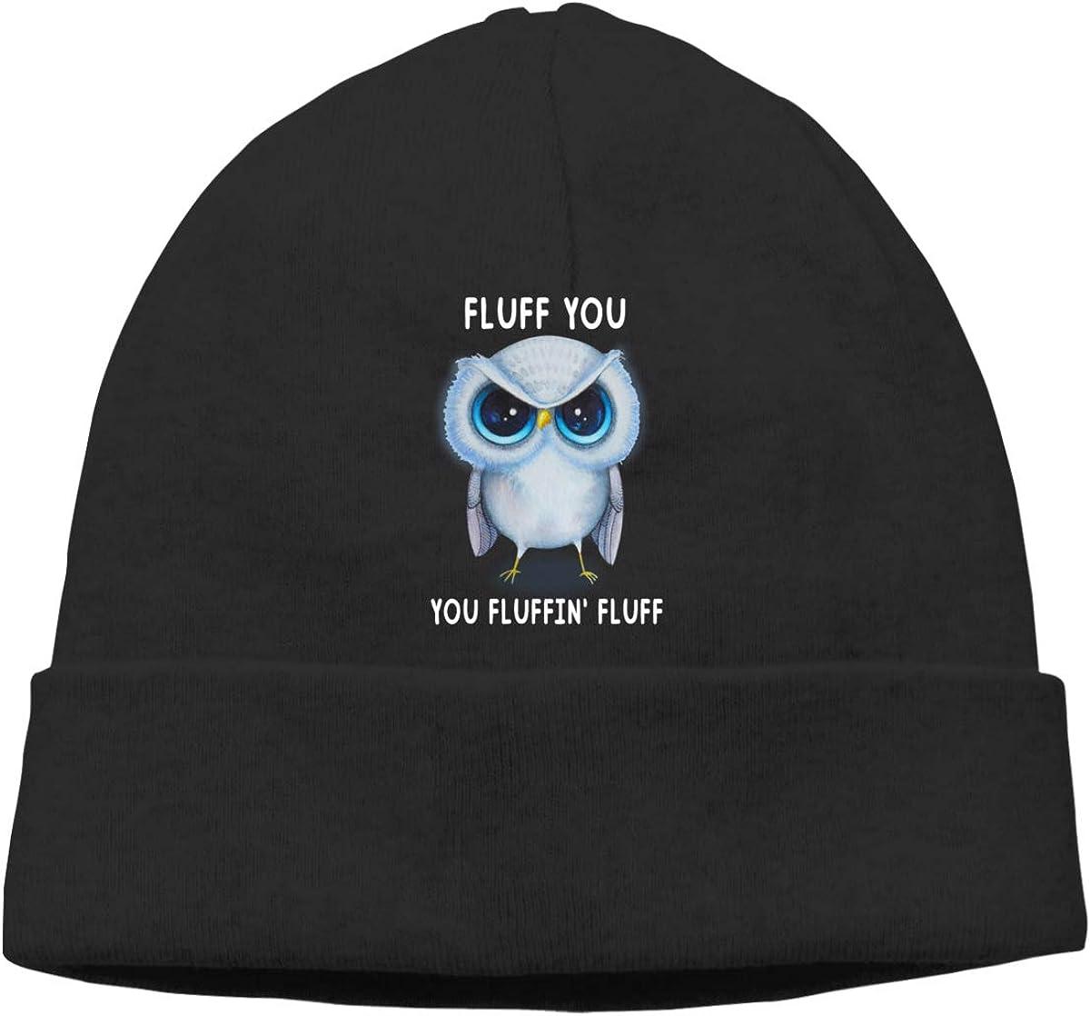 Oopp Jfhg Fluff You You Fluffin Fluff Beanies Hats Ski Cap Unisex