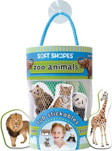 Innovative Kids Soft Shapes Photography Tub Stickables Zoo Animals (Kids Soft Shapes)