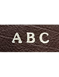 Monogram add-on for an ASHLIN accessory Personalized Monogram Wallet,Debossed Initials /Engraved