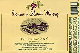 2011 Thousand Islands Winery Frontenac XXX 500 ml