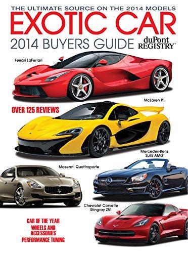 Read Online duPont REGISTRY 2014 Exotic Car Buyers Guide PDF