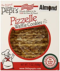 Little Pepi's Pizzelles, Almond, 7 Ounce...
