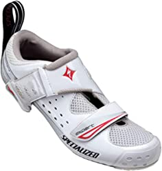 SPECIALIZED Trivent Expert Womens Shoe, White/Red, ...