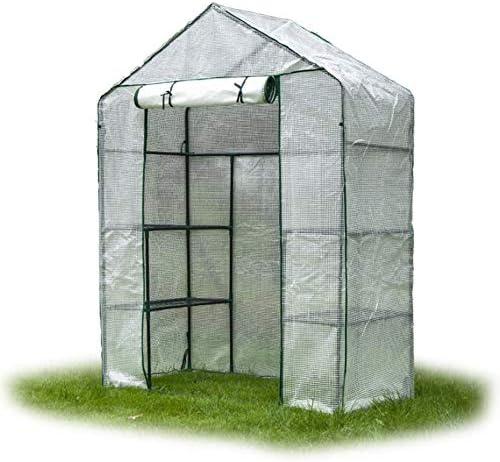 ビニールハウス トマト温室、PEの植物成長部屋、ウォークイン温室カバーガーデンバルコニーの温室カバーのため、143CM×73CM×195CM