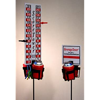 ScoreTower Combo Set - Scoreboard & Drinkholders for Horseshoes