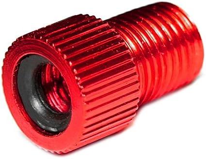 auch optisch EIN Highlight PRESKIN 1 St/ück Ventiladapter Fahrrad-Ventil auf Auto-Ventil mit Dichtring SV AV DV