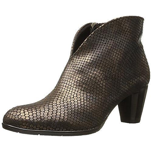 ara Women's Tricia Boot, Copper Snake Print Metallic, 9.5 M US
