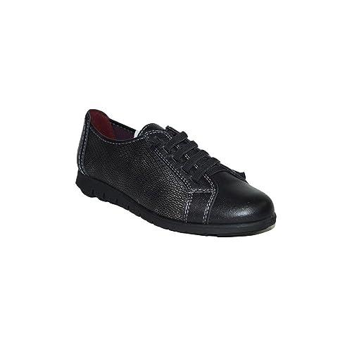 PRIMAR Shoes - Zapatilla Confort Flor PS133 Zapatillas Elegantes Casuales Urbanas Verano Moda 2018 Mujer Piel Azul Beige Negro Baratas: Amazon.es: Zapatos y ...