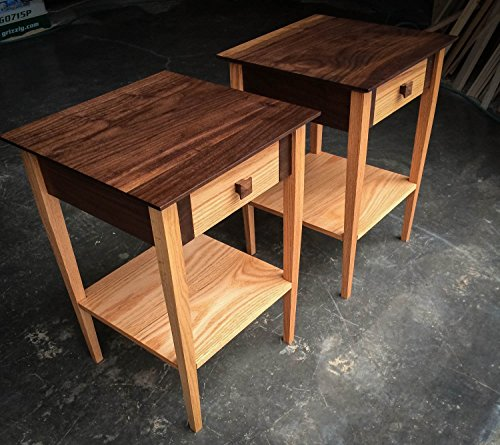 Solid Walnut and Red Oak 17