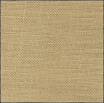 (Zweigart 40ct Newcastle Linen-18x27 Needlework Fabric - Summer Khaki)