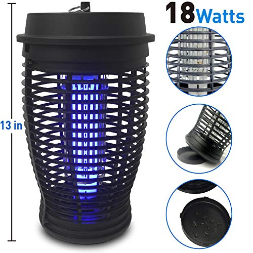 EasyGoProducts EasyGo Zapper Mosquito Bug Killer Trap-18 Watts, 18