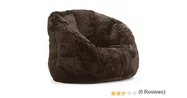 Amazon Cocoon Faux Fur Bean Bag Chair Multiple Colors Kitchen Dining