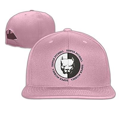 Car-Styling-Funny-Cartoon-Pitbull-Super-Hero-font-b-DoG Flat Bill Snapback Hats Embroidered Women Men Adjustable Baseball Caps