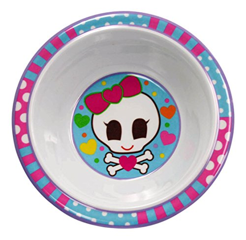 Girls Personalized Bowl (My Name Bowls Pirate Girl USA Personalized Bowl)