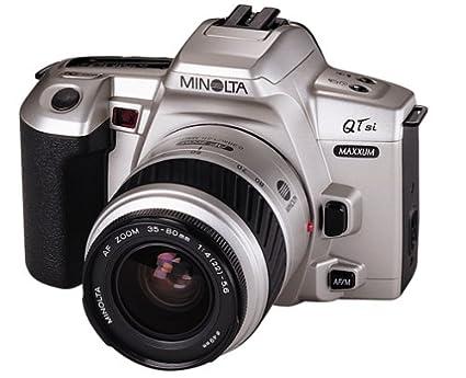 amazoncom minolta maxxum qtsi 35mm slr camera kit w 35 80mm lens discontinued by manufacturer slr film cameras camera photo - Minolta Digital Camera