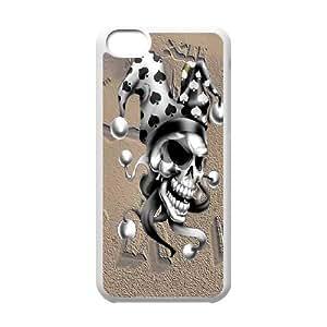 iPhone 5C Phone Case Skull Ny3274