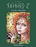 Fairies 2 Line Art Coloring Book