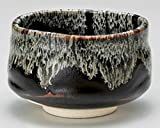Tenmoku 4.6inch Matcha-Bowl Black Ceramic Made in Japan