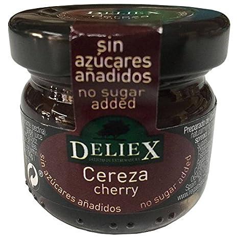 Regalo de botella de Aceite de Oliva miniatura de La Chinata con tarrito de mermelada de cerezas sin gluten para eventos (Pack 24 ud): Amazon.es: Hogar
