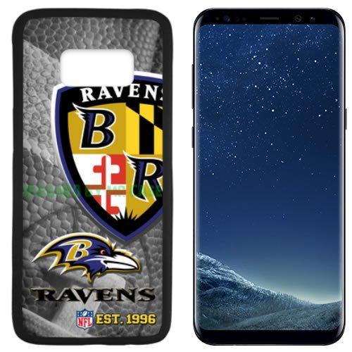 Ravens Baltmore Football New Black Samsung Galaxy S8 Plus Case by Mr Case