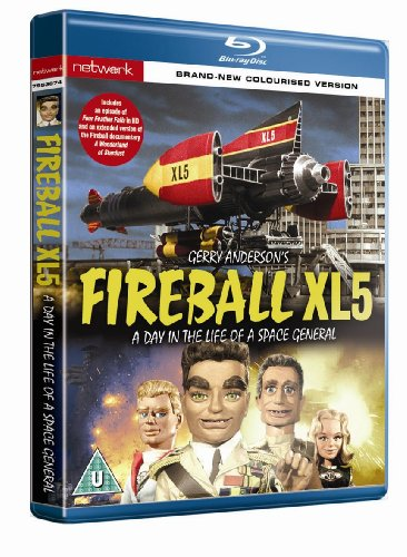 Gerry Anderson - Fireball XL5 (Black & White)