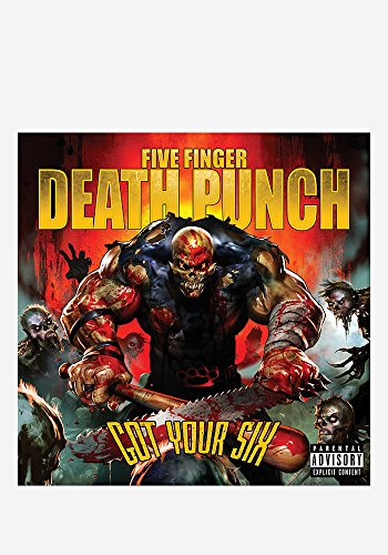 Five Finger Death Punch Got Your Six New CD Jekyll & Hyde +