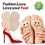 i-Healz Metatarsal Pads / Premium Ball of Foot Cushion (2 Pairs of Foot Pads) - All Day Pain Relief and Amazing Comfort, One Size Shoe Inserts for Women